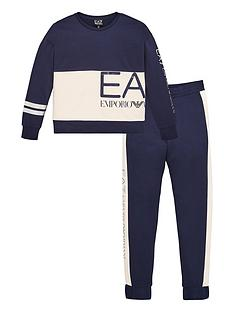 ea7-emporio-armani-girls-2-piece-large-logo-crew-sweatshirt-and-joggers-set-navy