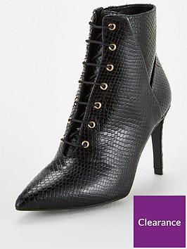 karen-millen-ella-silk-ankle-boots-black