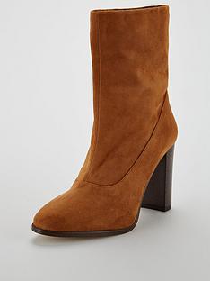 karen-millen-sappho-shore-ankle-bootsnbsp--tan