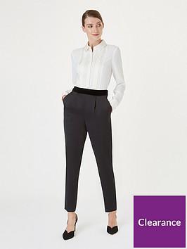 hobbs-satin-back-belle-crepe-trouser-black