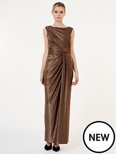 hobbs-mia-maxi-dress-gold