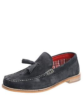 Base London Base London Tempus Suede Loafers - Navy Picture