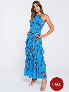 karen-millen-folk-floral-tiered-maxi-dress-bluemulti