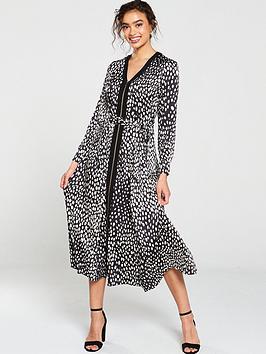 karen-millen-polkadot-midi-dress