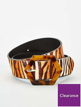 v-by-very-tort-buckle-leather-zebra-print-belt-zebra