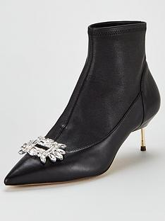 kurt-geiger-london-bellevue-ankle-boots-black
