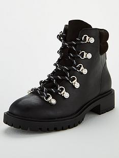 miss-kg-hockley-diamante-eyelet-biker-boots-black