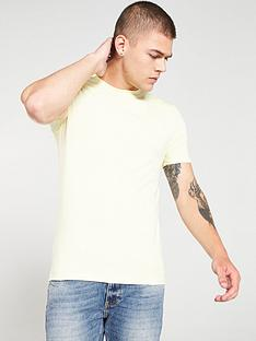 river-island-yellow-muscle-fit-crew-neck-t-shirt