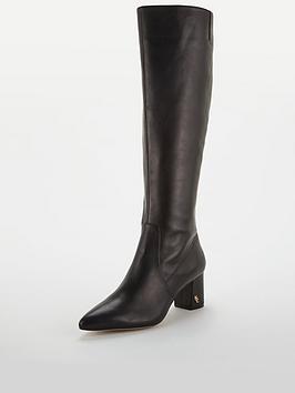 kurt-geiger-london-burlington-knee-boots-black