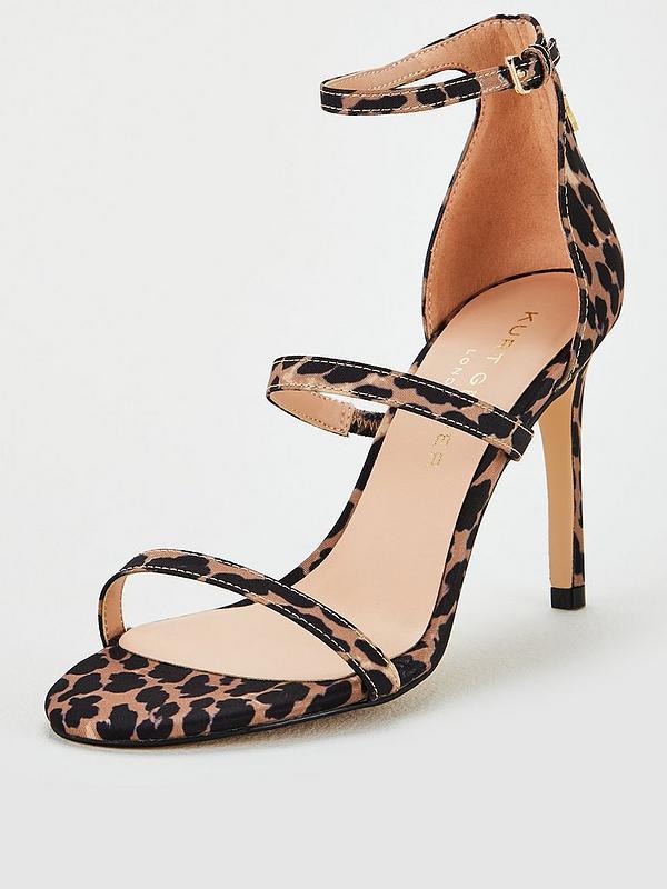 Gift Silver High Heel Sandals By Carvela | Kurt Geiger