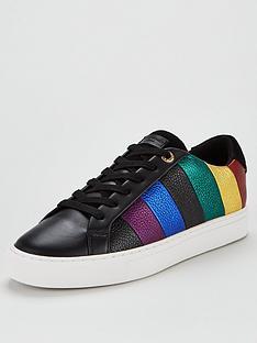 kurt-geiger-london-lane-stripe-trainers-black