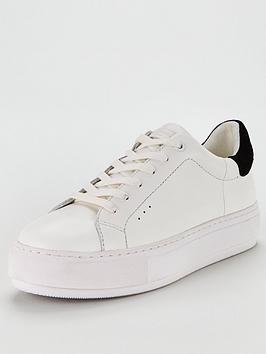 kurt-geiger-london-laney-trainers-white