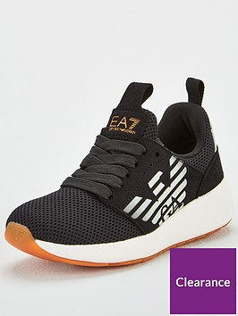 ea7-emporio-armani-boys-fusion-logo-runner-trainers-black