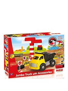 dolu-jumbo-truck-with-blocks-40-pcs