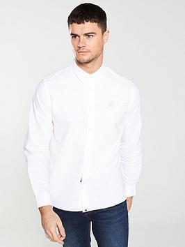 Pretty Green Pretty Green Oxford Shirt - White Picture