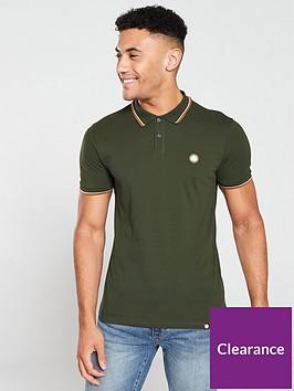 pretty-green-tipped-pique-polo-shirt-dark-green