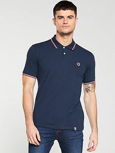 pretty-green-tipped-pique-polo-shirt-navy