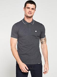 pretty-green-tipped-pique-polo-shirt-dark-grey-marl