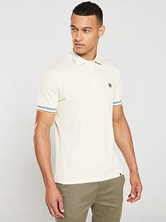 pretty-green-eastman-tipped-polo-shirt-ecru
