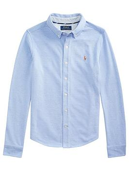 ralph-lauren-boys-long-sleeve-oxford-mesh-shirt-blue