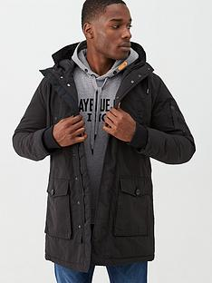 replay-hooded-parka-jacket-black