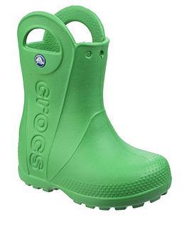Crocs Crocs Handle It Wellington Boots - Green Picture
