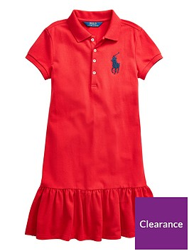 ralph-lauren-girls-classic-big-pony-polo-dress-red