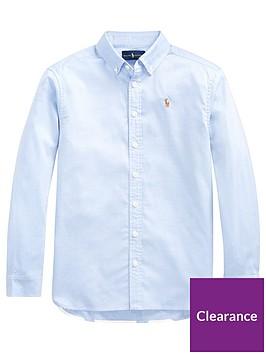 ralph-lauren-girls-polo-print-back-oxford-shirt-blue