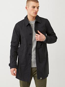 Pretty Green Pretty Green Langley Mac Jacket - Black Picture