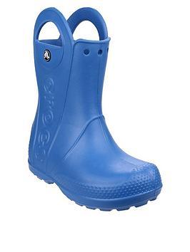 Crocs Crocs Boys Handle It Wellington Boots - Blue Picture