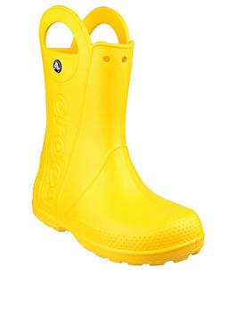 Crocs Crocs Handle It Wellington Boots - Yellow Picture
