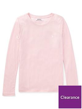 ralph-lauren-girls-classic-long-sleeve-t-shirt-pink