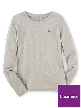 ralph-lauren-girls-classic-long-sleeve-t-shirt-grey
