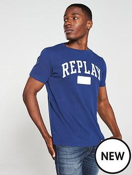 replay-logo-t-shirt-navy-blue