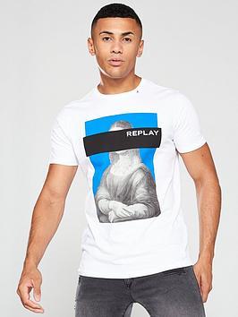 replay-painting-logo-t-shirt-white