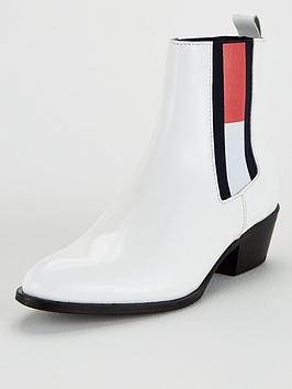 Tommy Jeans Tommy Jeans Cowboy Boots - White Picture