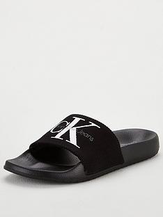 calvin-klein-jeans-chantal-slider-black
