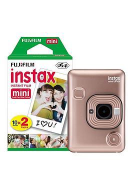 Fujifilm Instax Fujifilm Instax Mini Liplay Hybrid Blush Gold Instant  ... Picture