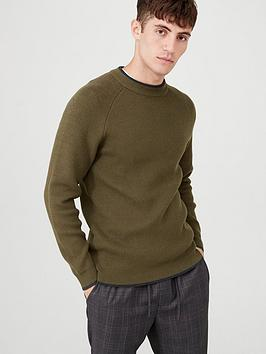 v-by-very-ribbed-crew-neck-jumper-khaki
