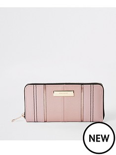 river-island-zip-around-purse-pink