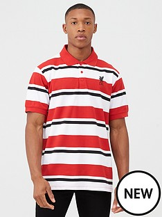 liverpool-fc-liverpool-fc-yarn-dyed-striped-polo-red