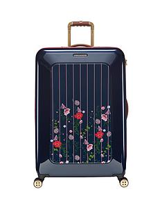 ted-baker-take-flight-large-4-wheel-suitcase-hedgerow