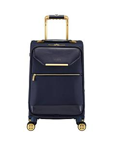 ted-baker-albany-small-4-wheel-suitcase-navy