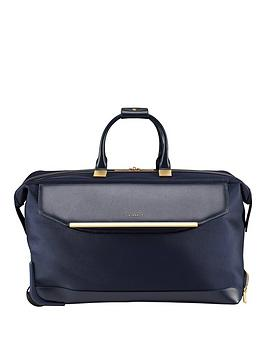 Ted Baker Ted Baker Albany Large Trolley Duffle Navy Picture