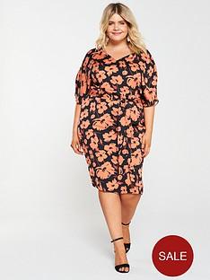 v-by-very-curve-kimono-midi-dress-floral-print