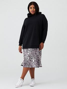 v-by-very-curve-animal-print-hooded-sweat-dress-black