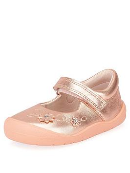 Start-Rite Start-Rite Flex Shoes - Rose Gold Picture