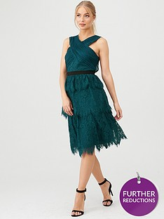 v-by-very-wrap-front-layered-chantilly-lace-midi-dress-green