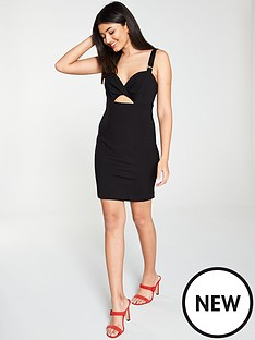 river-island-river-island-cut-out-bodycon-mini-dress-black