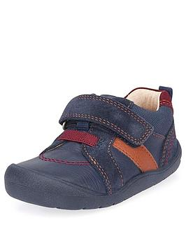 Start-Rite Start-Rite Younger Twist Shoes - Navy Picture